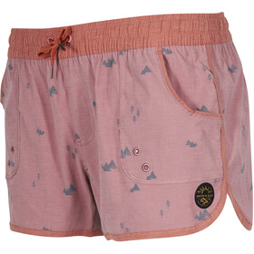 United By Blue W's Peaks & Pines Boardshorts Dusty Rose